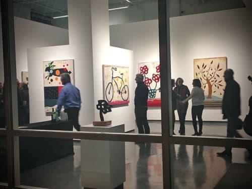 Flowered | Paintings by John Randall Nelson | Andrea Schwartz Gallery in San Francisco