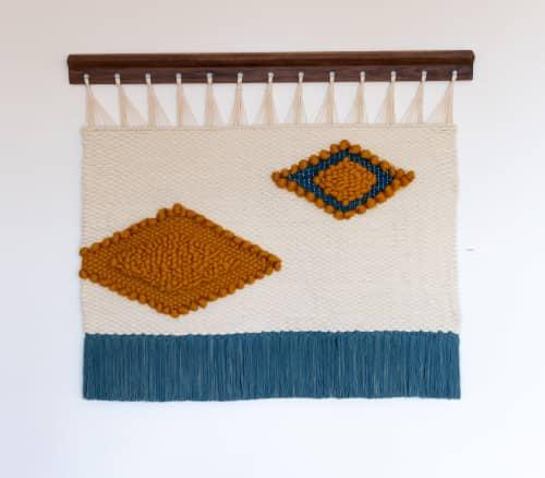 Carbon   Wall Hangings by Keyaiira   leather + fiber   Artist Studio in Santa Rosa