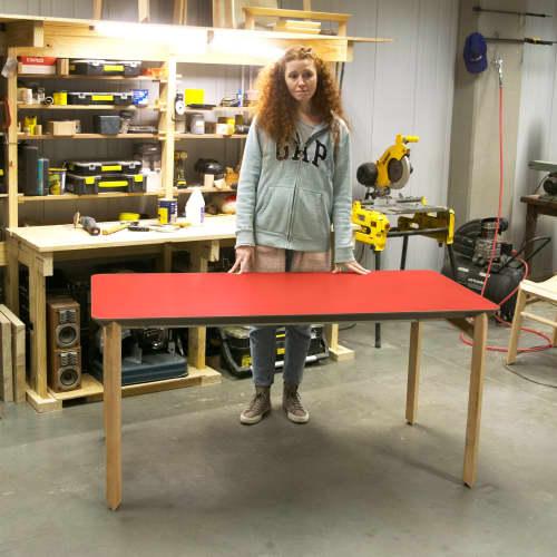 Custom Table / Desk   Tables by Espina Corona   Metropolitan Design Center - INCUBA in ABA