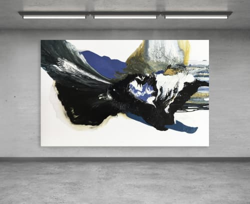 Subsided Collision | Paintings by Sean Knipe Art