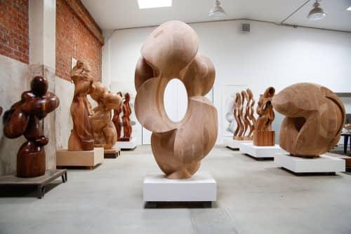Public Sculptures by Douglas Tausik Ryder seen at Jason Vass, Los Angeles - Outburst