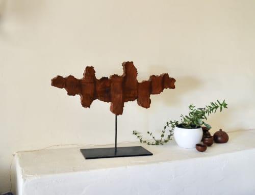 Time Will Tell - Table-top Sculpture | Sculptures by Lutz Hornischer - Sculptures & Wood Art