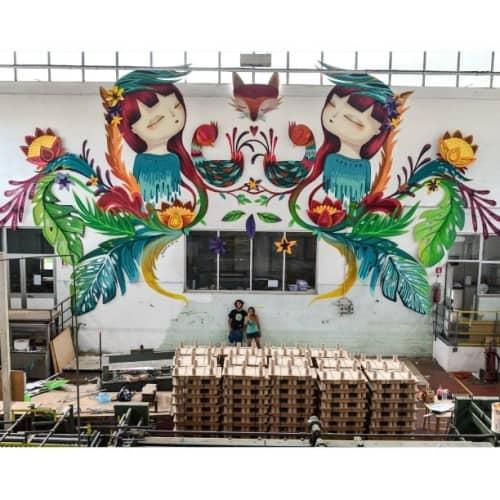 Ossigeno | Murals by Julieta XLF | Pomezia in Pomezia