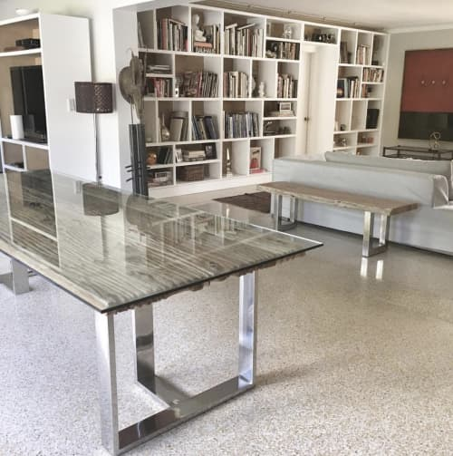 Tables by Gusto Design Collection seen at Miami, Florida, Miami - Becky