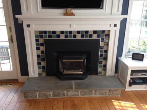Fireplace Surround   Interior Design by Rhoda Kahler