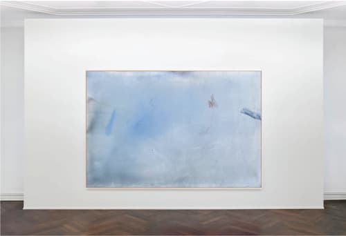 "'dream house in tribeca', 48"" x 72"" | Paintings by maja dlugolecki"