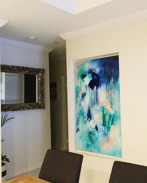 Paintings by Kate Fisher - Abstract Painting