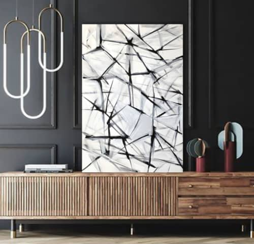 'GLASGOW' original abstract painting by Linnea Heide   Paintings by Linnea Heide contemporary fine art