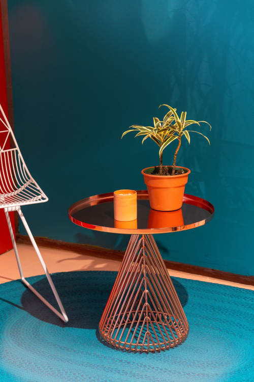 Conical Side Table   Tables by Bend Goods