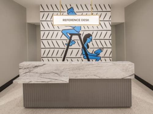Warby Parker Mural | Murals by Nishant Choksi | Warby Parker Scottsdale in Scottsdale