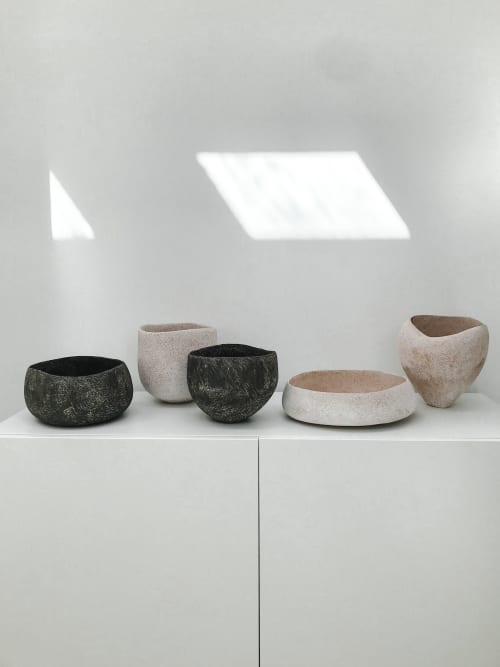 Sculptures by Yasha Butler - Pergamon & Caria Vessels  - The Lithic Collection