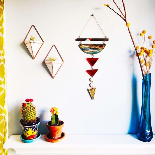 Geometric Chakra Wall Hanging   Wall Hangings by Samara Designs