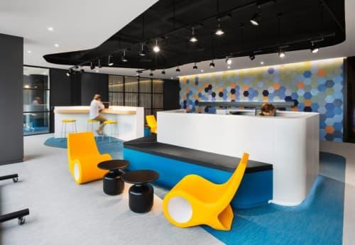 Fish Chair   Chairs by Satyendra Pakhalé   Microsoft Iberia in Barcelona