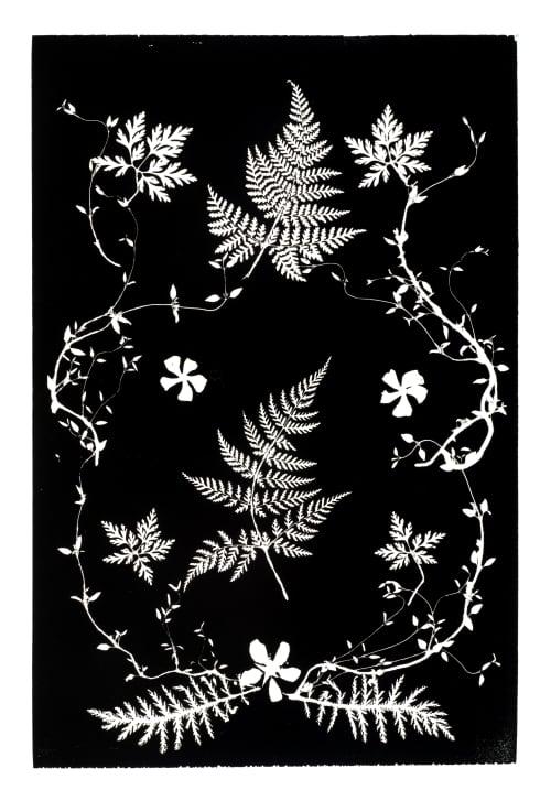 Botanical Collage I | Art & Wall Decor by Erik Linton