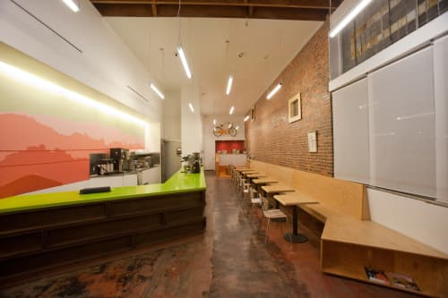 Architecture by FreelandBuck seen at Cafe de Leche, Los Angeles - Architectural Design