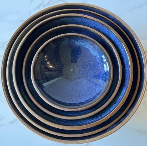 Stoneware Nesting Set   Tableware by Tina Fossella Pottery