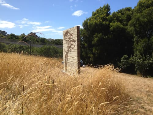 Moonah | Sculptures by Kylie Stillman | Montalto Restaurant in Red Hill South