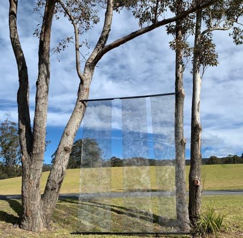 Quietan | Public Sculptures by Natalia Kujbida Artwork | Willinga Park in Bawley Point