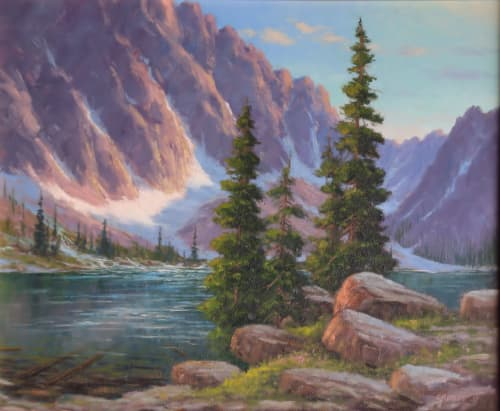 Paintings by Fred Choate Fine Art - Goat Lake