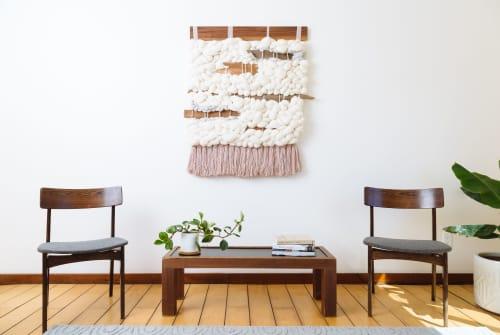 Spring Fog | Wall Hangings by Keyaiira | leather + fiber | Reveal Hair Studio in Santa Rosa