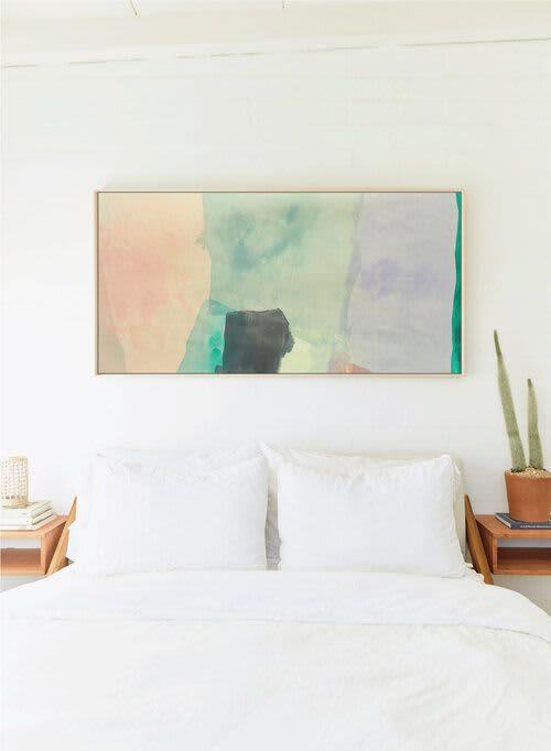 Paintings by maja dlugolecki - as my mind wanders no. 02 - linen print
