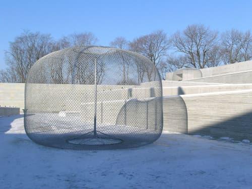 Orbs | Public Sculptures by John Ruppert | Kumu in Tallinn