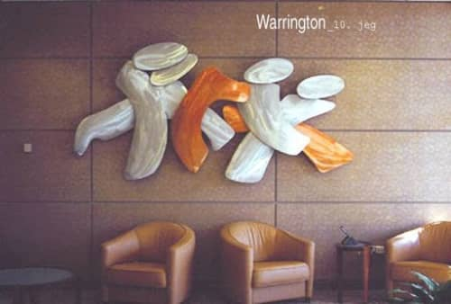 Sculptures by Richard Warrington seen at Tap Pharmaceutical Products Inc., Lake Forest - The Gathering