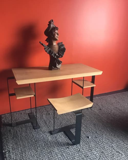 Tables by Edition Modern - DALSACE desk and stool