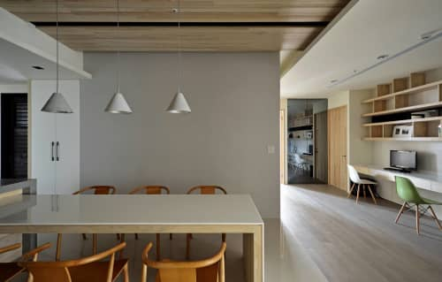 Pendants by SEED Design USA seen at 858 Lind Ave SW, Renton - Castle Cone Pendant