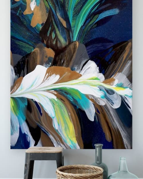 Murals by Terry Kruse seen at Private Residence, Calgary, Calgary - Celestial Tango