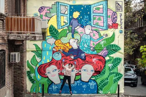 "Mural for ""Niko"" Street Art Movement   Murals by Masholand"