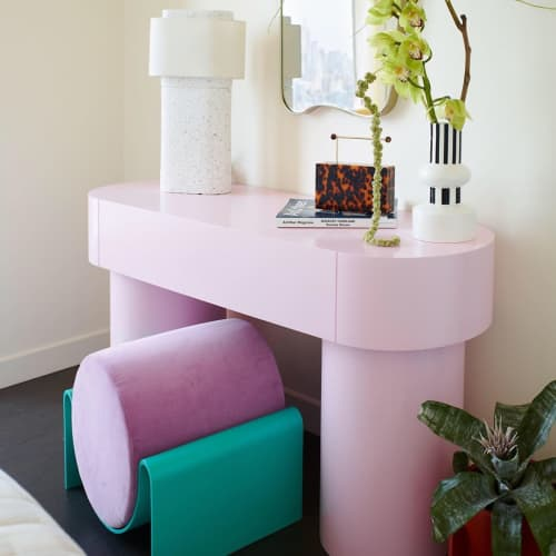 Monitor Stool   Chairs by Asa Pingree   One Manhattan Square - Lower East Side Condos in New York