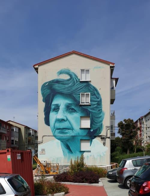 A Ostreira   Murals by Mon Devane