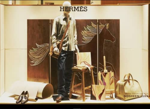 Dallas Hermes Window Display   Art & Wall Decor by Nosheen iqbal   Hermès in Dallas