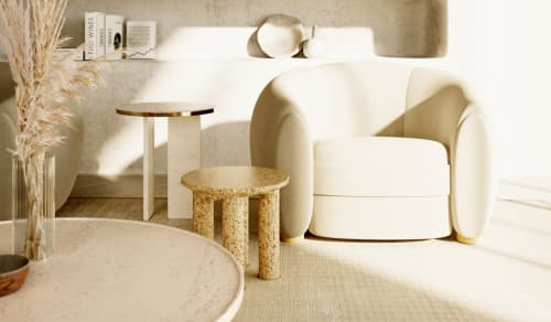 Tables by Davani - Davani Purity Side Table