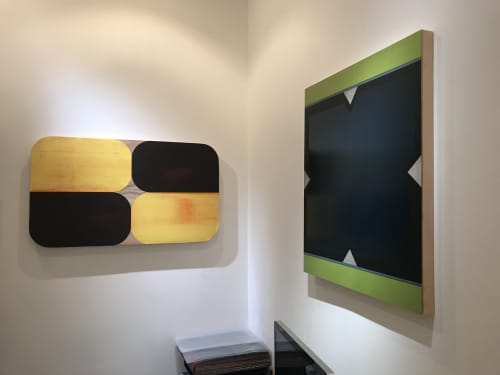 Paintings by Ruth HIller - New Geometry II