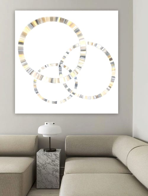 'TRiNiTY' original abstract painting by Linnea Heide   Paintings by Linnea Heide contemporary fine art