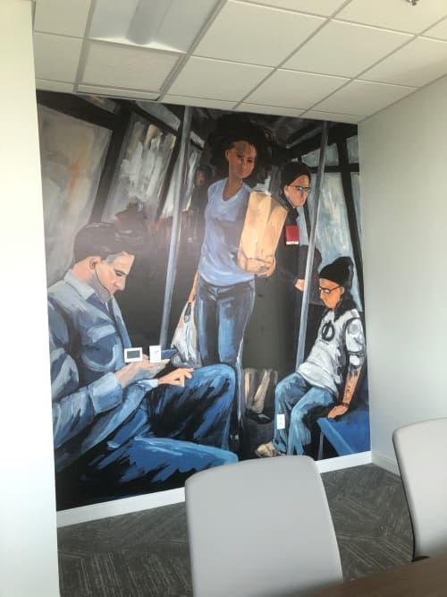 Ride   Murals by Keith Doles   Jacksonville Regional Transportation Center at LaVilla in Jacksonville