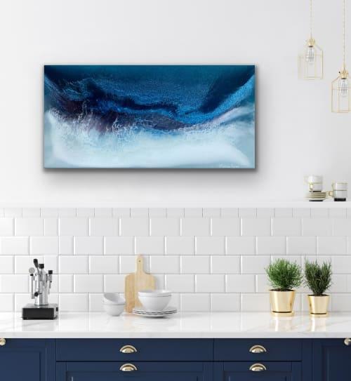Paintings by Melissa Renee fieryfordeepblue  Art & Design seen at Creator's Studio, Irvine - Captain's View