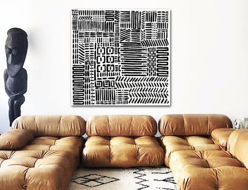 'TUSK'   Paintings by Linnea Heide contemporary fine art