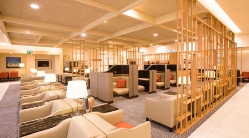 Lounge Singapore Airlines | Interior Design by ALGA by Paulo Antunes | Singapore Airlines in London