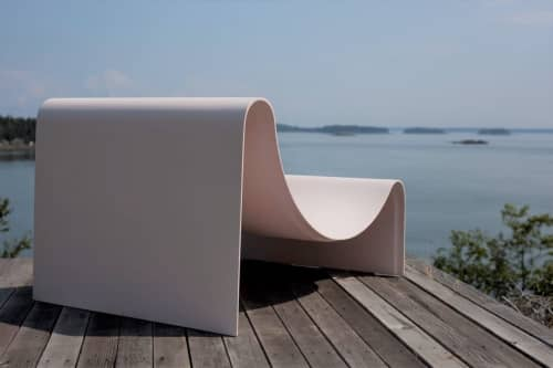 Knockabout Lounge Chair | Benches & Ottomans by Asa Pingree