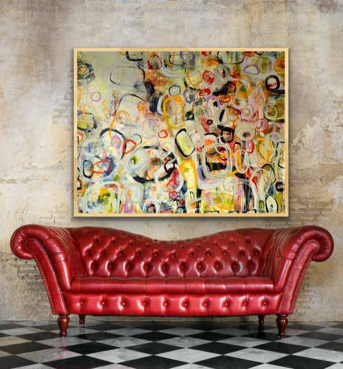 II Saw Fall Starting | Paintings by Darlene Watson Fine Artist