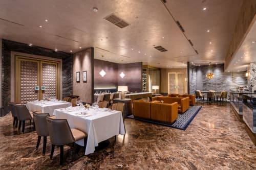 Interior Design by VINDATE INTERIOR & ARCHITECTURE at The Energy Building - AMUZ GOURMET RESTAURANT