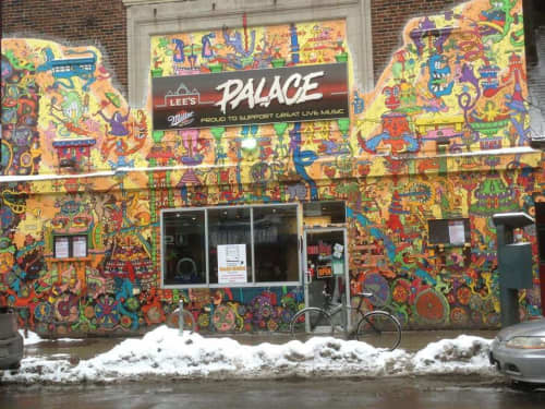 Wall Mural   Murals by AL Runt   Lee's Palace in Toronto