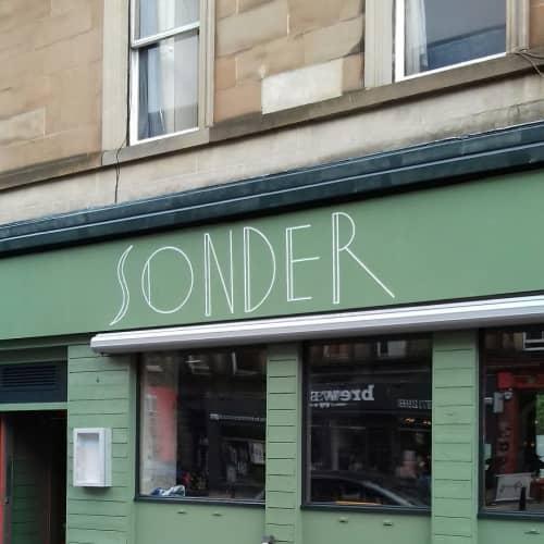 Sonder Fascia Sign   Signage by Journeyman Signs (TATCH)   Sonder in Edinburgh