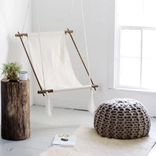 Fabulous Floor Pouf DIY KIT | Benches & Ottomans by Flax & Twine