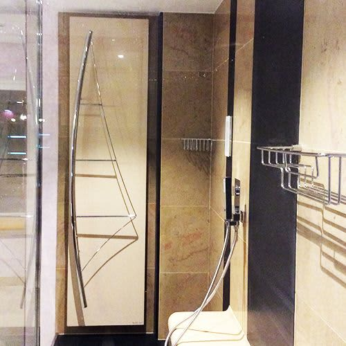 Voile Towel Warmer   Furniture by CINIER