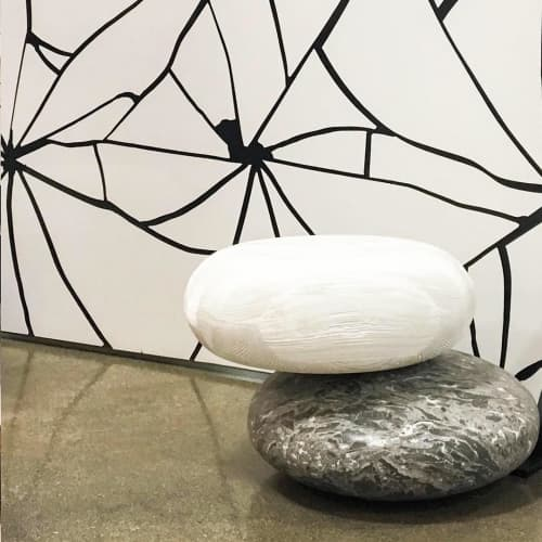 Pave Stone | Chairs by Kreoo | Marble Trend Ltd in Toronto