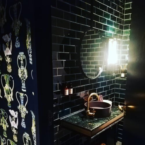 Green Tiles   Tiles by Akashic Tiles   Gorgeous George Hotel in Cape Town